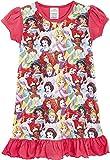 Camicie da notte per bambine a tema personaggi Disney, Re Leone, Aladdin, Cenerentola, Paw Patrol, La Sirenetta | Prodotto Ufficiale per bambini, abbigliamento da notte Principessa 5-6 Anni