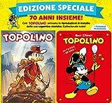 TOPOLINO 3307 CON TARGHE METALLICHE CELEBRATIVE 70 ANNI