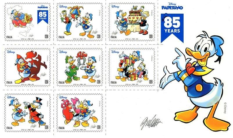 francobolli Paperino